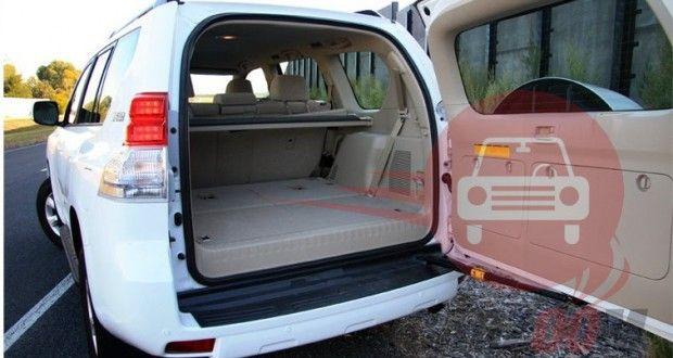 Toyota Land Cruiser Prado Interiors Bootspace