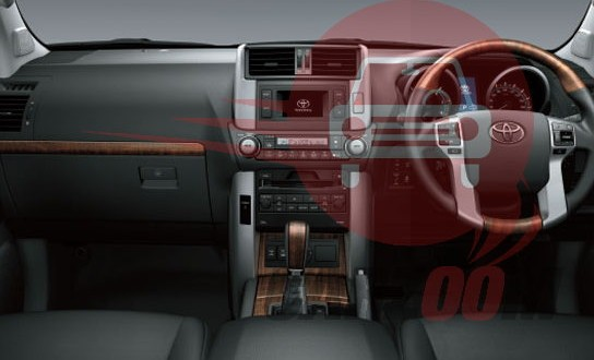 Toyota Land Cruiser Prado Interiors Dashboard