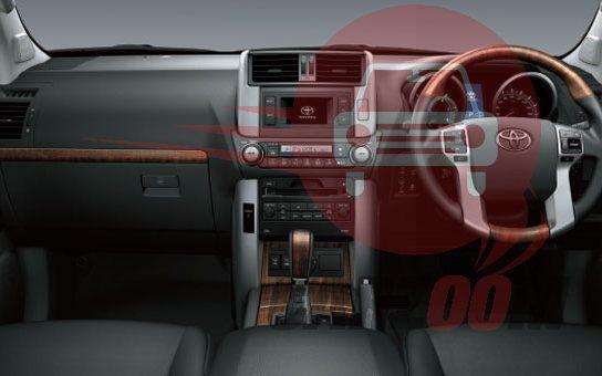 Toyota Land Cruiser Prado Interiors Dashboard