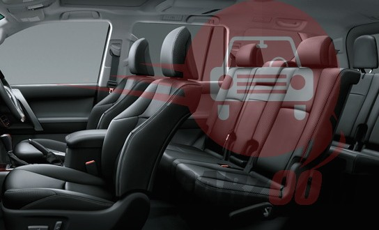 Toyota Land Cruiser Prado Interiors Seats
