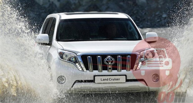 Toyota Land cruiser Exteriors Front View