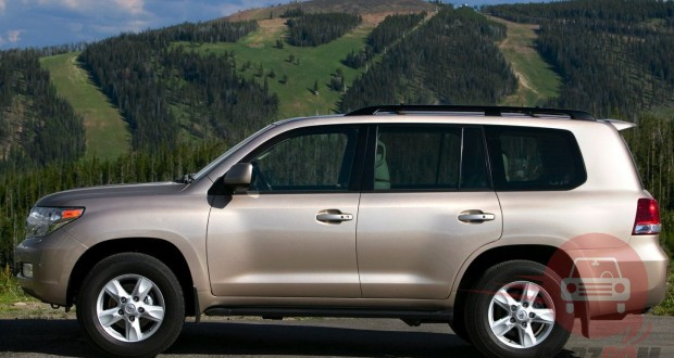 Toyota Land cruiser Exteriors Side View