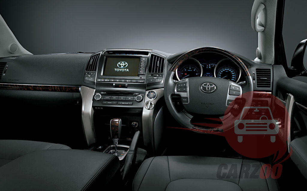 Toyota Land cruiser Interiors Dashboard