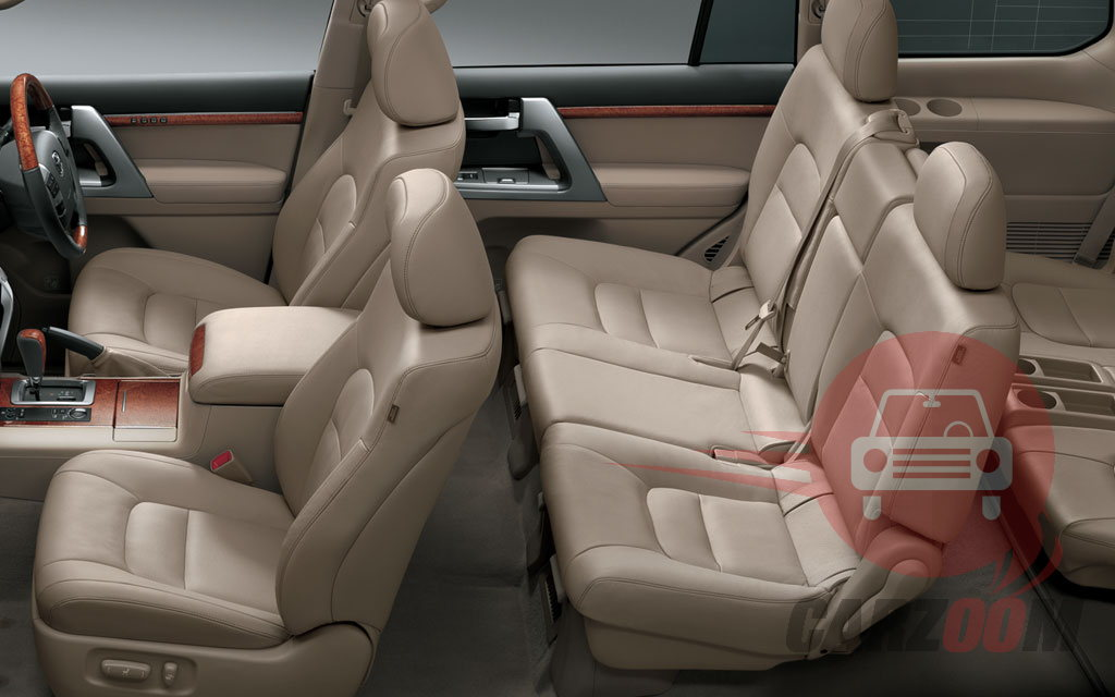 Toyota Land cruiser Interiors Seats