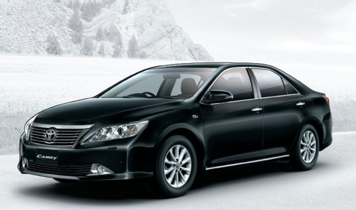 Toyota New Camry Exteriors Overall