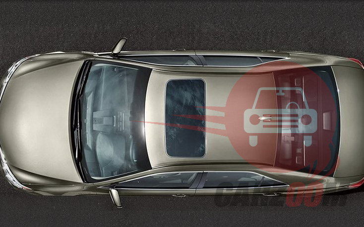 Toyota New Camry Exteriors Top View