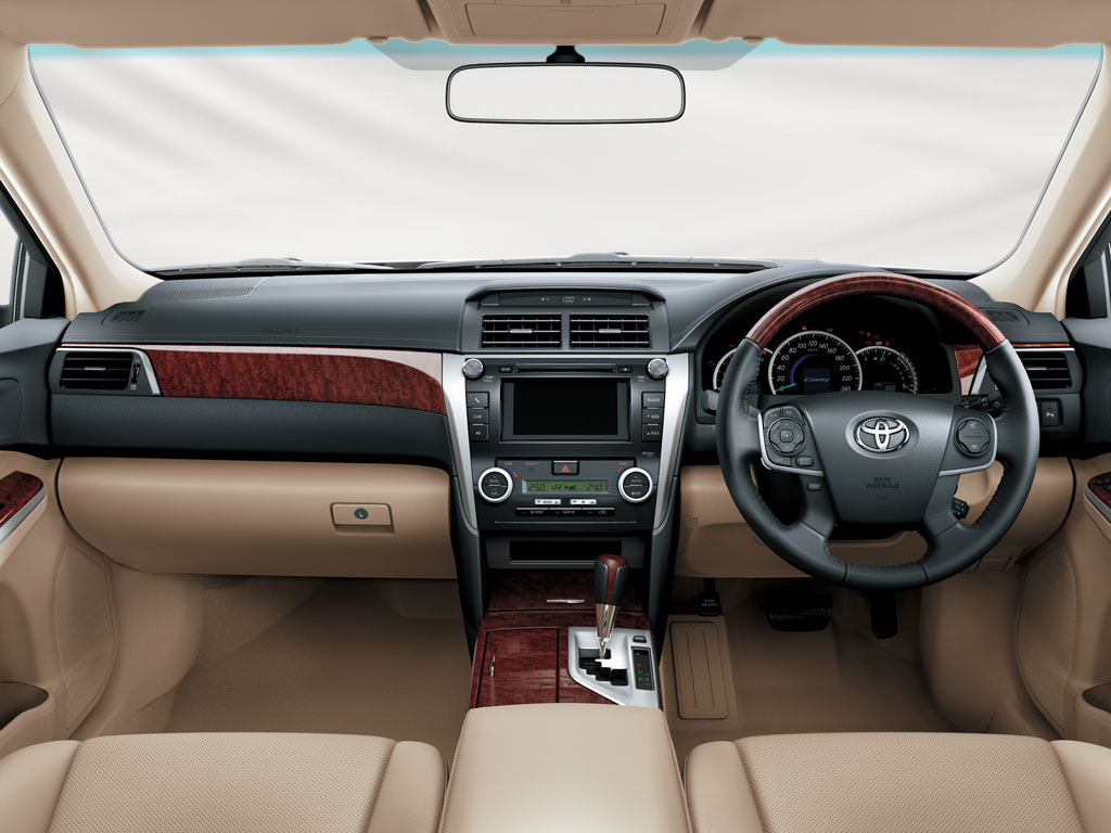 Toyota New Camry Interiors Dashboard