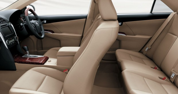 Toyota New Camry Interiors Seats
