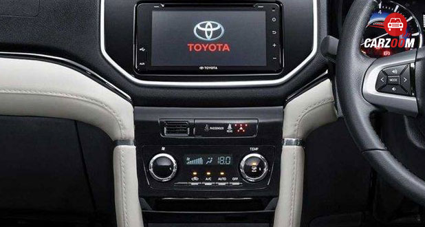 Toyota Rush Dashboard