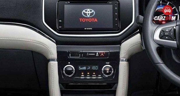 Toyota Rush Dashboard