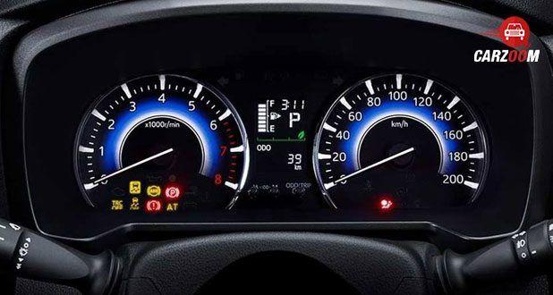 Toyota Rush Meter