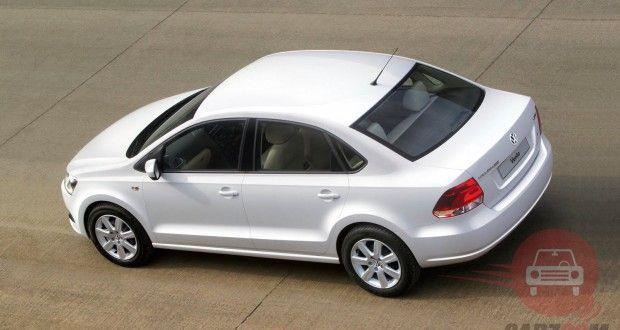 Volkswagen Vento Exteriors Top View