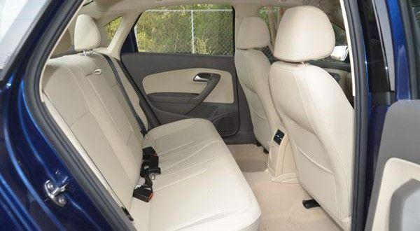 Volkswagen Vento TSI Interiors Seats