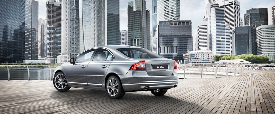 Volvo S80 Exteriors Side View