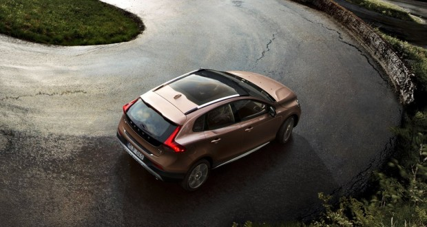 Volvo V40 Exteriors Top View