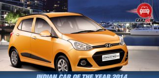 Hyundai Grand i10 Rewarded as Indian Car of the Year 2014