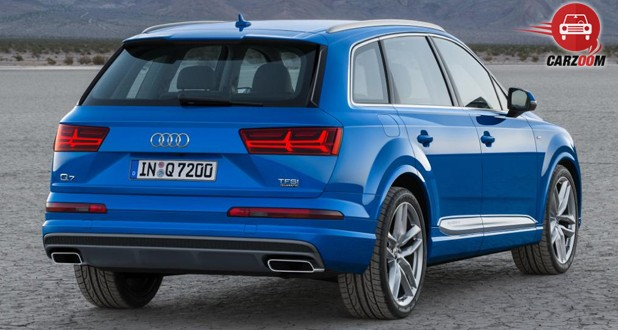 Audi Q7 Back view