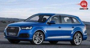 Audi Q7 Left View