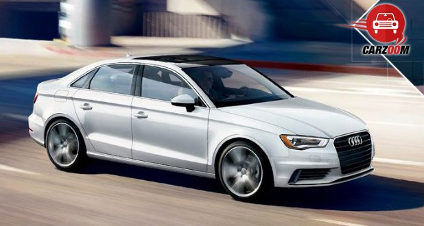 Auto Expo 2014 Audi A3 sedan Exteriors Overall