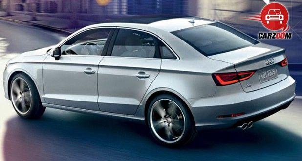 Auto Expo 2014 Audi A3 sedan Exteriors Side View
