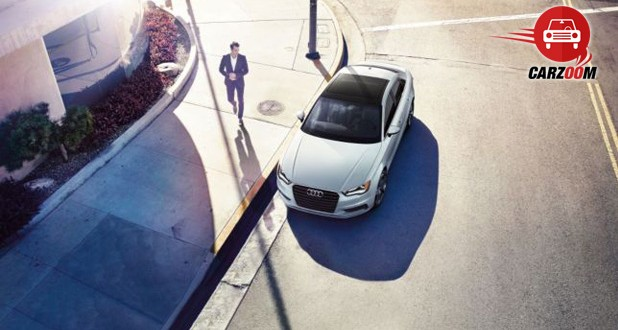 Auto Expo 2014 Audi A3 sedan Exteriors Top View