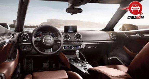Auto Expo 2014 Audi A3 sedan Interiors Dashboard