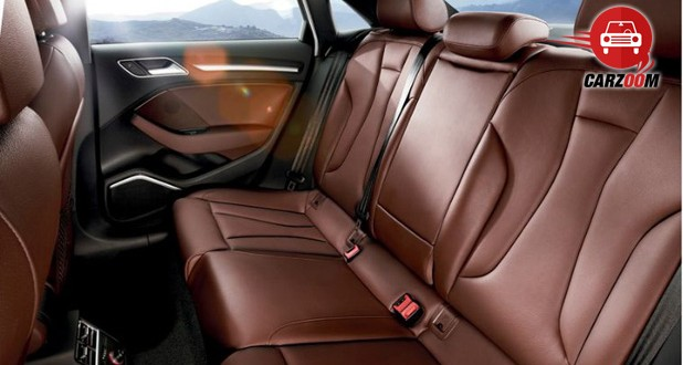 Auto Expo 2014 Audi A3 sedan Interiors Seats