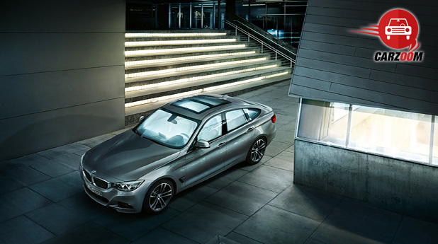 Auto Expo 2014 BMW 3 Series GT Exteriors Top View