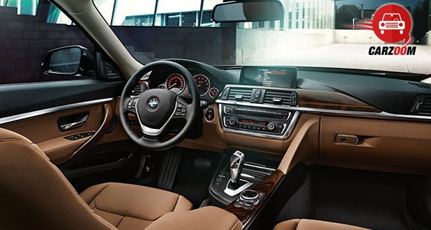 Auto Expo 2014 BMW 3-series GT Interiors Dashboard