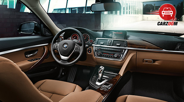 Auto Expo 2014 BMW 3 Series GT Interiors Dashboard