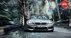 Auto Expo 2014 BMW M6 Gran Coupe Exteriors Front View