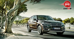 Auto Expo 2014 BMW X5 Exteriors Front View