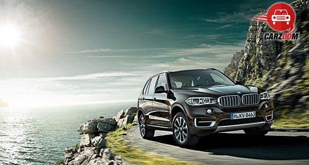 Auto Expo 2014 BMW X5 Exteriors Overall