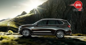 Auto Expo 2014 BMW X5 Exteriors Side View
