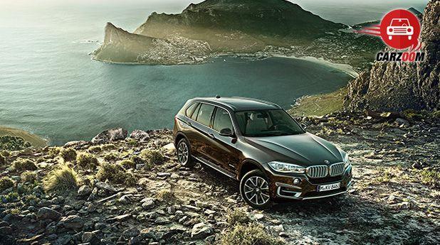 BMW X5 Exteriors Top View