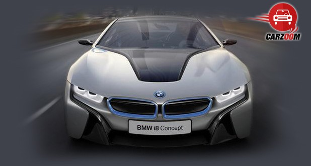 Auto Expo 2014 BMW i8 hybrid Exteriors Front View