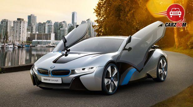 Auto Expo 2014 BMW i8 hybrid Exteriors Overall