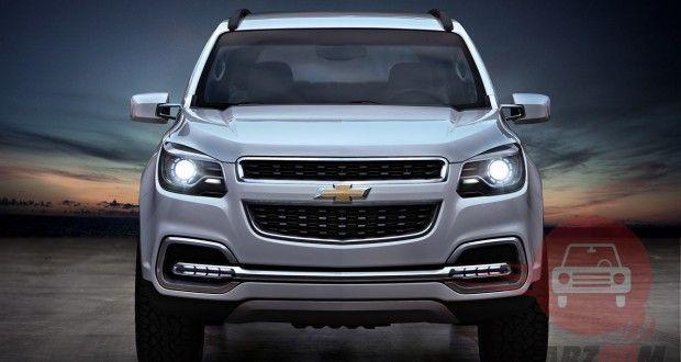 Auto Expo 2014 Chevrolet Trailblazer Exteriors Front View
