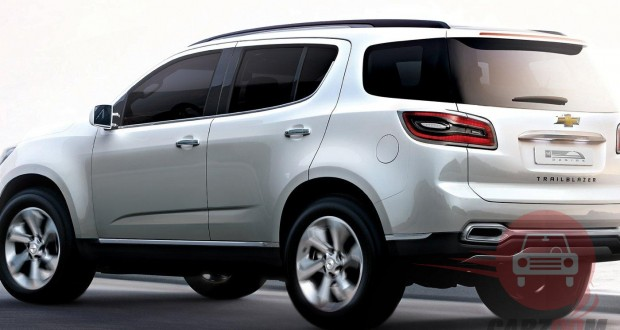 Auto Expo 2014 Chevrolet Trailblazer Exteriors Side View