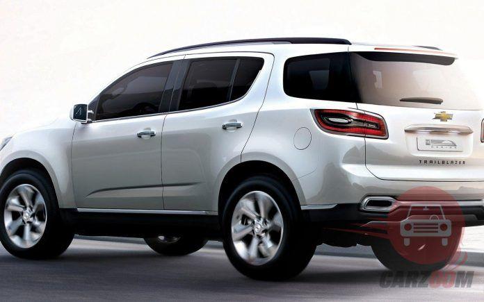 Auto Expo 2014 Chevrolet Trailblazer Exteriors Side View