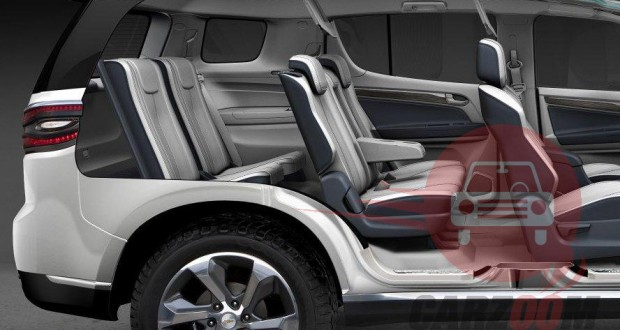 Auto Expo 2014 Chevrolet Trailblazer Interiors Seats