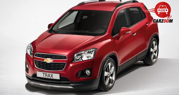 Auto Expo 2014 Chevrolet Trax Exteriors Overall