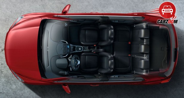Auto Expo 2014 Chevrolet Trax Interiors Seats