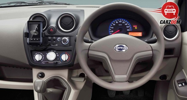 Auto Expo 2014 Datsun Go Interiors Dashboard