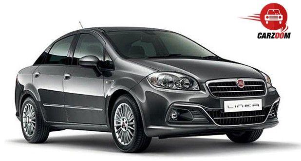 Auto Expo 2014 Fiat Linea facelift Exteriors Front View