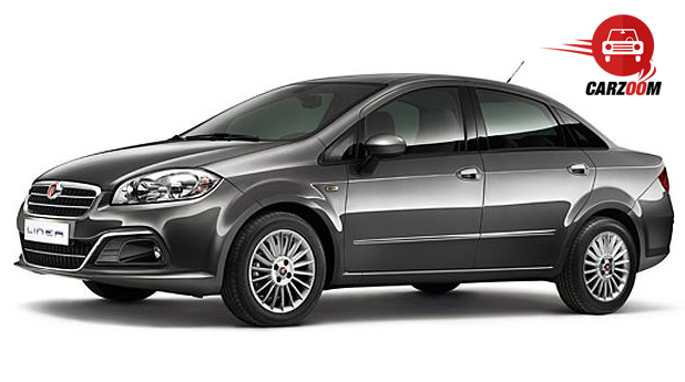 Auto Expo 2014 Fiat Linea facelift Exteriors Overall