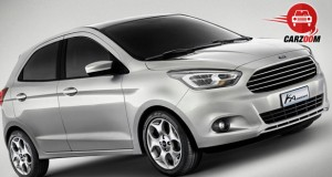 Auto Expo 2014 Ford Ka Concept Exteriors Overall