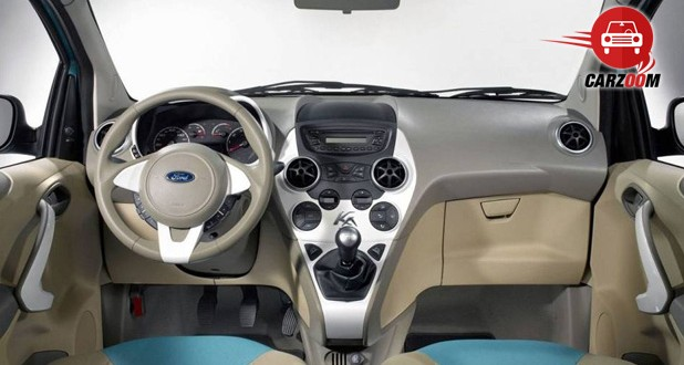 Auto Expo 2014 Ford Ka Concept Interiors Dashboard