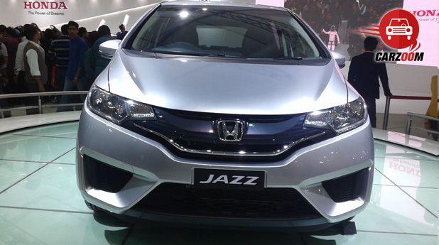 Auto Expo 2014 Honda Jazz Exteriors Front View