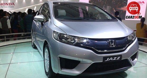 Auto Expo 2014 Honda Jazz Exteriors Overall
